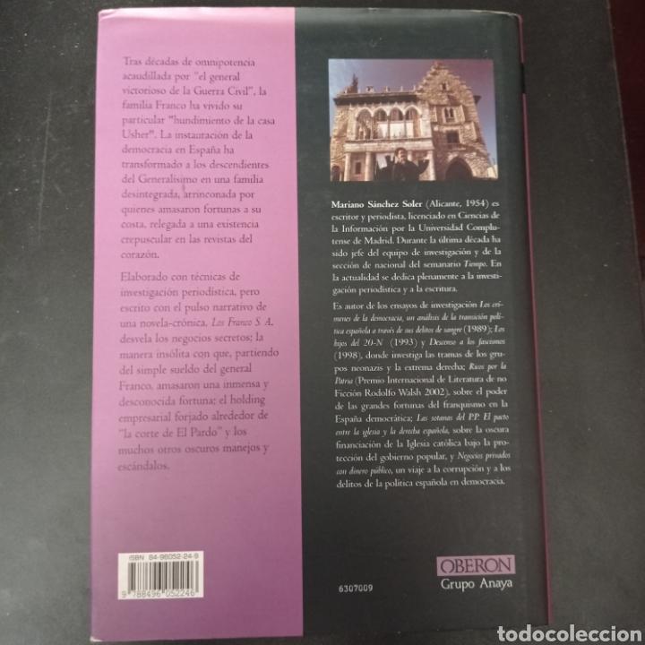 Libros: LOS FRANCOS , S.A. . MARIANO SANCHEZ SOLER . TAPA DURA - Foto 2 - 261121680