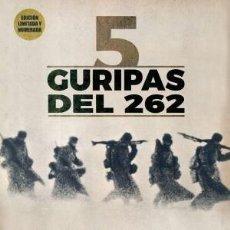 Libros: 5 [ CINCO ] GURIPAS DEL 262 EDITORIAL: LA BIBLIOTECA DEL GURIPA AUTOR: PABLO ARREDONDO GARRIDO, SIX. Lote 261917715