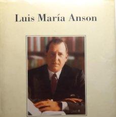 Libros: DON JUAN, DE LUIS MARÍA ANSON. DEDICATORIA. Lote 262768195