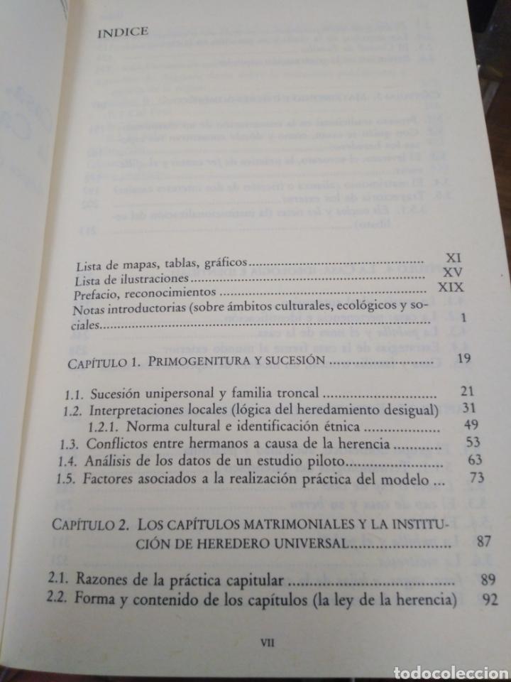 Libros: CASA HERENCIA Y FAMILIA EN LA CATALUÑA RURAL-ANDRÉS BARRERA GONZÁLEZ-EDITA ALIANZA 1990 - Foto 6 - 262927300