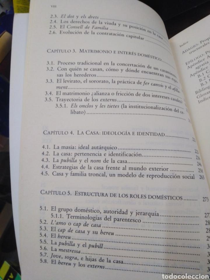 Libros: CASA HERENCIA Y FAMILIA EN LA CATALUÑA RURAL-ANDRÉS BARRERA GONZÁLEZ-EDITA ALIANZA 1990 - Foto 7 - 262927300