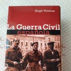 Libros: HUGH THOMAS: LA GUERRA CIVIL ESPAÑOLA (2 VOLS.). Lote 266094488