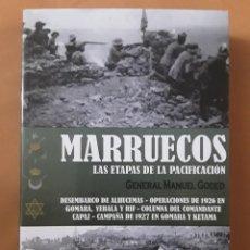 Libros: MARRUECOS. LAS ETAPAS DE LA PACIFICACIÓN. GENERAL MANUEL GODED. Lote 280605708