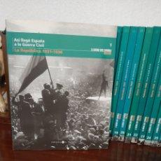 Libros: COLECCIÓN COMPLETA LA GUERRA CIVIL ESPAÑOLA: MES A MES. Lote 267841139