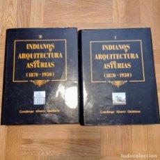 Libros: INDIANOS Y ARQUITECTURA EN ASTURIAS. COVADONGA ÁLVAREZ QUINTANA.. Lote 268977369