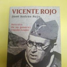 Libros: VICENTE ROJO ,JOSÉ ANDRÉS ROJO , AÑO 2006. Lote 277463428
