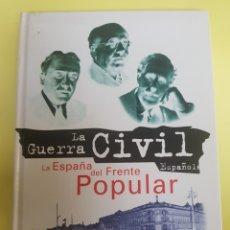 Libros: LA GUERRA CIVIL , LA ESPAÑA DEL FRENTE POPULAR ,,FOLIO 1996. Lote 277463568