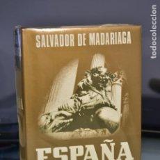 Libros: SALVADOR DE MADARIAGA- ESPAÑA. ENSAYO DE HISTORIA CONTEMPORÁNEA- ED. ESPASA- CALPE, S. A. Lote 283295598
