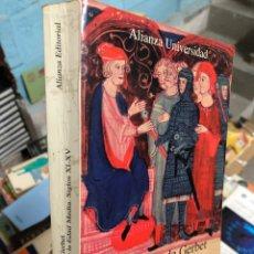Livres: MARIE-CLAUDE GERBERT: LAS NOBLEZAS ESPAÑOLAS EN LA EDAD MEDIA - SIGLOS XI-XV. Lote 286843588