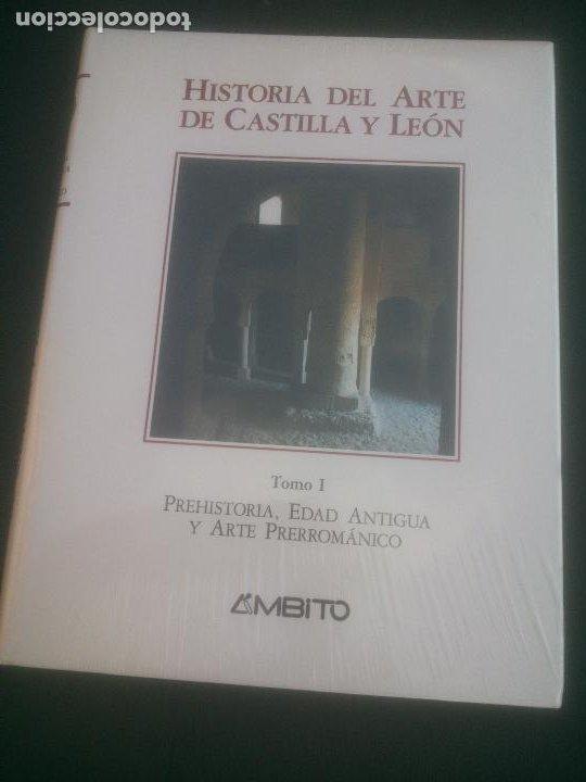 HISTORIA DEL ARTE DE CASTILLA Y LEON, TOMO I,PHEHISTORIA,EDAD ANTIGUA Y ARTE PREROMANICO,AMBITO,1994 (Libros Nuevos - Historia - Historia de España)