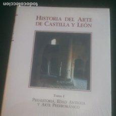 Libros: HISTORIA DEL ARTE DE CASTILLA Y LEON, TOMO I,PHEHISTORIA,EDAD ANTIGUA Y ARTE PREROMANICO,AMBITO,1994. Lote 288411778