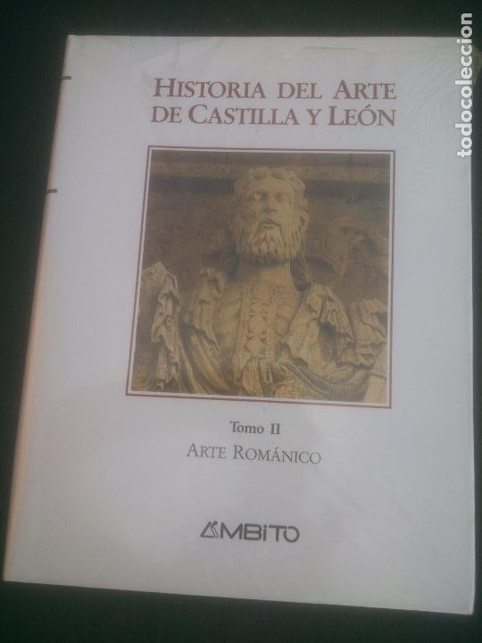 HISTORIA DEL ARTE DE CASTILLA Y LEON, TOMO II, ARTE ROMANICO, AMBITO, 1994 (Libros Nuevos - Historia - Historia de España)