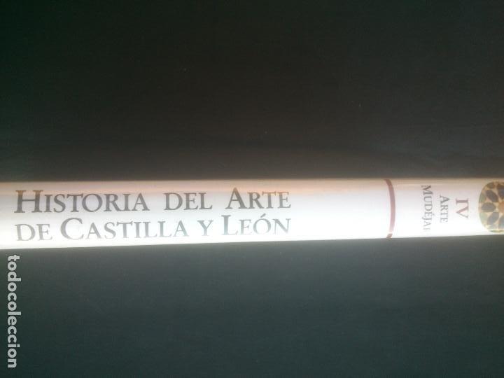 Libros: HISTORIA DEL ARTE DE CASTILLA Y LEON, TOMO IV, ARTE MUDEJAR, AMBITO. - Foto 3 - 288412343