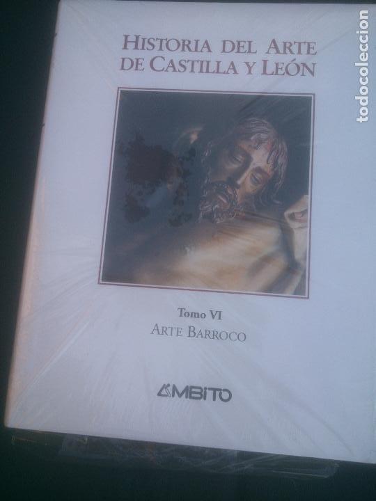 HISTORIA DEL ARTE DE CASTILLA Y LEON, TOMO VI, ARTE BARROCO, AMBITO. (Libros Nuevos - Historia - Historia de España)