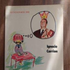 Libros: QUERIDO SEÑOR REY 1976. Lote 289577163