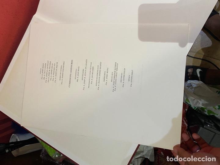Libros: Llibre Vermell de Montserrat, edició facsímil parcial del manuscrit núm. 1 1989 Abadia Montserrat - Foto 7 - 289700738