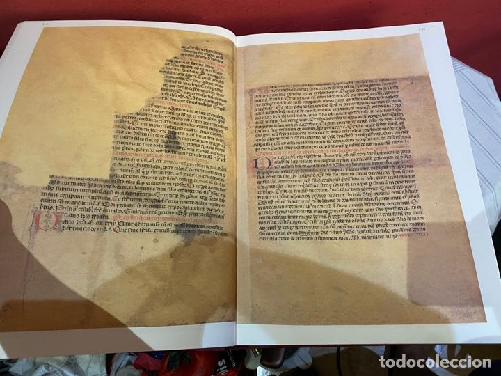 Libros: Llibre Vermell de Montserrat, edició facsímil parcial del manuscrit núm. 1 1989 Abadia Montserrat - Foto 11 - 289700738