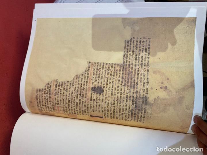 Libros: Llibre Vermell de Montserrat, edició facsímil parcial del manuscrit núm. 1 1989 Abadia Montserrat - Foto 12 - 289700738