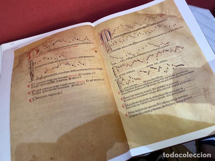 Libros: Llibre Vermell de Montserrat, edició facsímil parcial del manuscrit núm. 1 1989 Abadia Montserrat - Foto 14 - 289700738