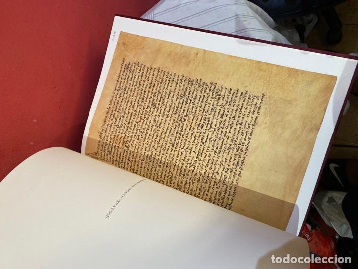 Libros: Llibre Vermell de Montserrat, edició facsímil parcial del manuscrit núm. 1 1989 Abadia Montserrat - Foto 18 - 289700738