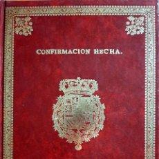 Libros: CONFIRMACIÓN HECHA POR EL REY N. S. D. CARLOS III DE LOS PRIVILEGIOS DE LA ISLA DE TENERIFE.. Lote 290814398