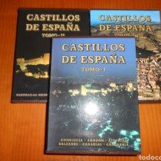 Libros: CASTILLOS DE ESPAÑA (COMPLETA). Lote 296059768