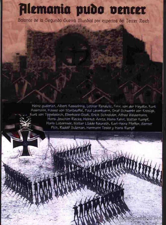 ALEMANIA PUDO VENCER BALANCE DE LA SEGUNDA GUERRA MUNDIAL GASTOS DE ENVIO GRATIS (Libros Nuevos - Historia - Historia Moderna)