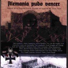 Livres: ALEMANIA PUDO VENCER BALANCE DE LA SEGUNDA GUERRA MUNDIAL GASTOS DE ENVIO GRATIS. Lote 150816900