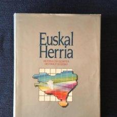 Libros: EUSKAL HERRIA HISTORIA Y SOCIEDAD, HISTORIA ETA GIZARTEA (1960-1985). Lote 84582176