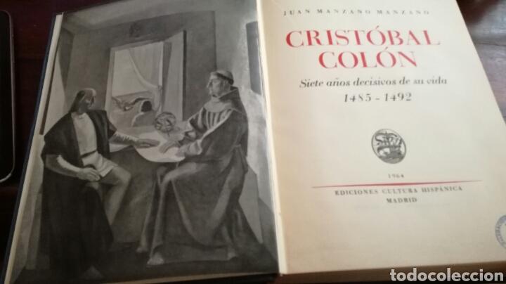 Libros: Cristóbal Colon. Siete años decisivos de su vida. 1485-1492 - Foto 2 - 88334767