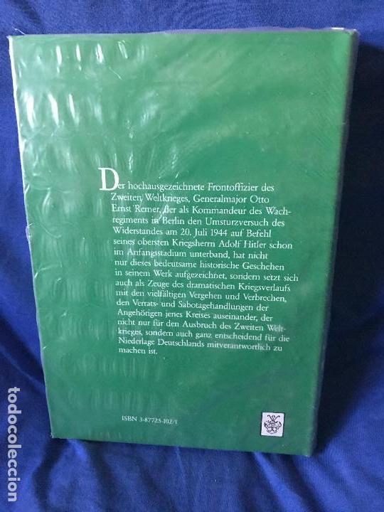 Libros: Verschwörung und Verrat um Hitler: Urteil des Frontsoldaten OTTO ERNST REMER - Foto 2 - 90749410