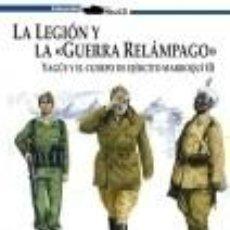 Libros: LA LEGION, YAGÜE Y EL CUERPO DE EJERCITO MARROQUI VOL I Y II OBRA COMPLETA JOSE Mª MANRIQUE GARCIA. Lote 90800285