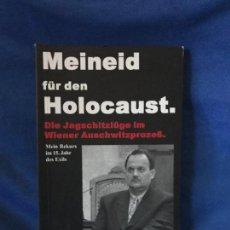 Libros: MEINED FUR DEN HOLOCAUST GERD HONSIK. Lote 91281155