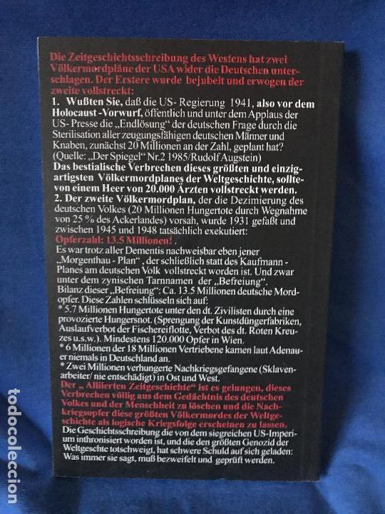 Libros: MEINED FUR DEN HOLOCAUST GERD HONSIK - Foto 2 - 91281155