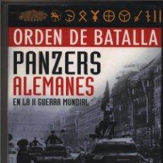 Libros: PANZERS ALEMANES. ORDEN DE BATALLA BISHOP, CHRIS GASTOS DE ENVIO GRATIS. Lote 30098072