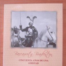 Libros: BARCARROTA - BRADENTON. 50 AÑOS DE UNA AMISTAD. EDITADO POR AYUNTAMIENTO DE BARCARROTA. AÑO 2012.. Lote 97506983