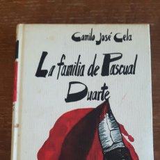 Libros: LA FAMILIA DE PASCUAL DUARTE. Lote 97872960