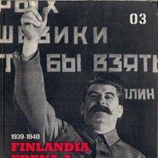 Libros:  FINLANDIA FRENA A STALIN GASTOS DE ENVIO GRATIS. Lote 99854359