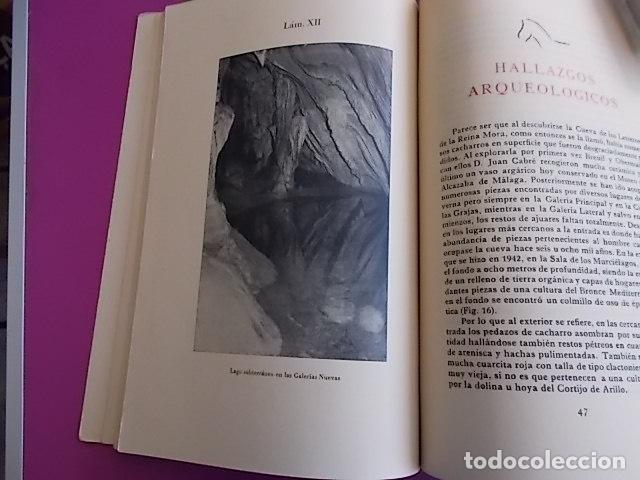 Libros: LIBRO INTERESANTE LA CUEVA DE LA PILETA / MONUMENTO NACIONAL SIMEON JIMENEZ REINA / 1958/ TIRADA - Foto 5 - 103195587