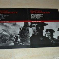 Libros: MAESTROS DE LA FOTOGRAFÍA. Lote 103596596