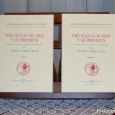 Livres: FORTALEZAS DE LUGO Y SU PROVINCIA - MANUEL VÁZQUEZ SEIJAS. Lote 121719767