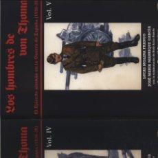 Libros: LOS HOMBRES DE VON THOMA IV Y V LUCAS MOLINA FRANCO - JOSE MARIA MANRRIQUE GASTOS DE ENVIO GRATIS. Lote 128204115