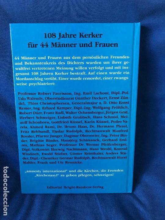 Libros: DER JUDEN III. REICH? CON AUTOGRAFO DE GERD HONSIK - Foto 2 - 91283720