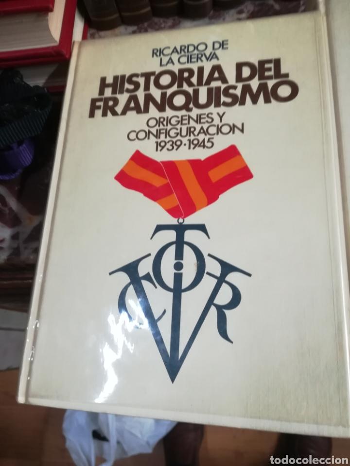 Libros: HISTORIA DEL FRANQUISMO - de Ricardo de la cierva - Foto 2 - 132404023
