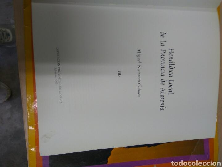 Libros: ALMERÍA HERÁLDICA LOCAL DE LA PROVINCIA - Foto 2 - 136210973