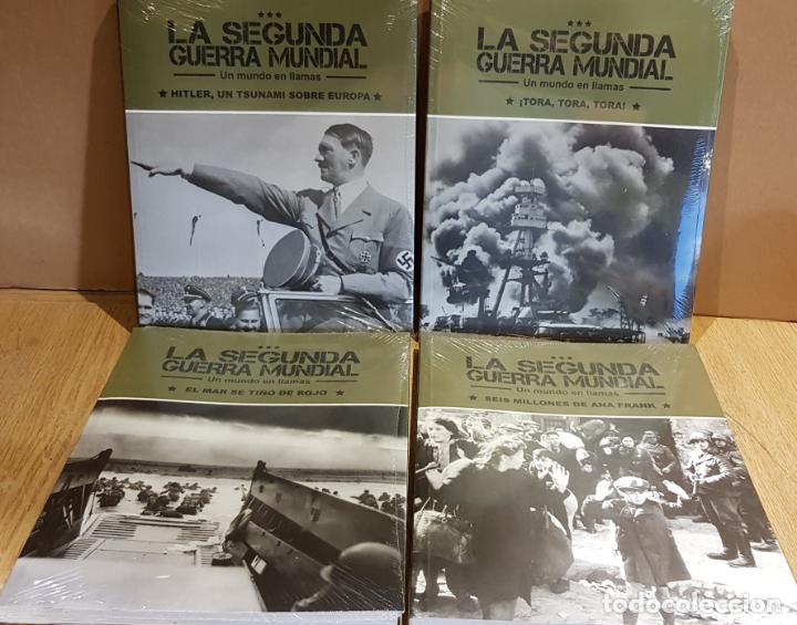 LA SEGUNDA GUERRA MUNDIAL / UN MUNDO EN LLAMAS / COMPLETA / 4 TOMOS PRECINTADOS (Libros Nuevos - Historia - Historia Moderna)