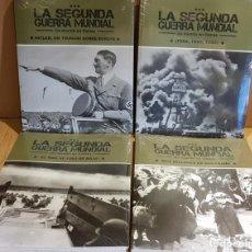 Libros: LA SEGUNDA GUERRA MUNDIAL / UN MUNDO EN LLAMAS / COMPLETA / 4 TOMOS PRECINTADOS. Lote 137333306