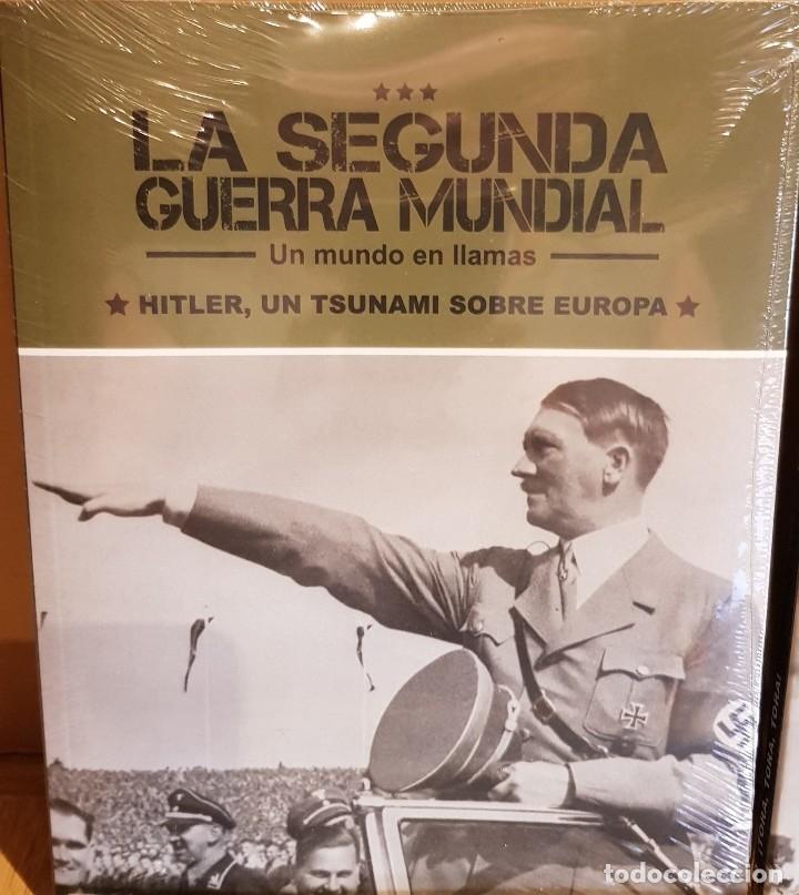 Libros: LA SEGUNDA GUERRA MUNDIAL / UN MUNDO EN LLAMAS / COMPLETA / 4 TOMOS PRECINTADOS - Foto 2 - 137333306