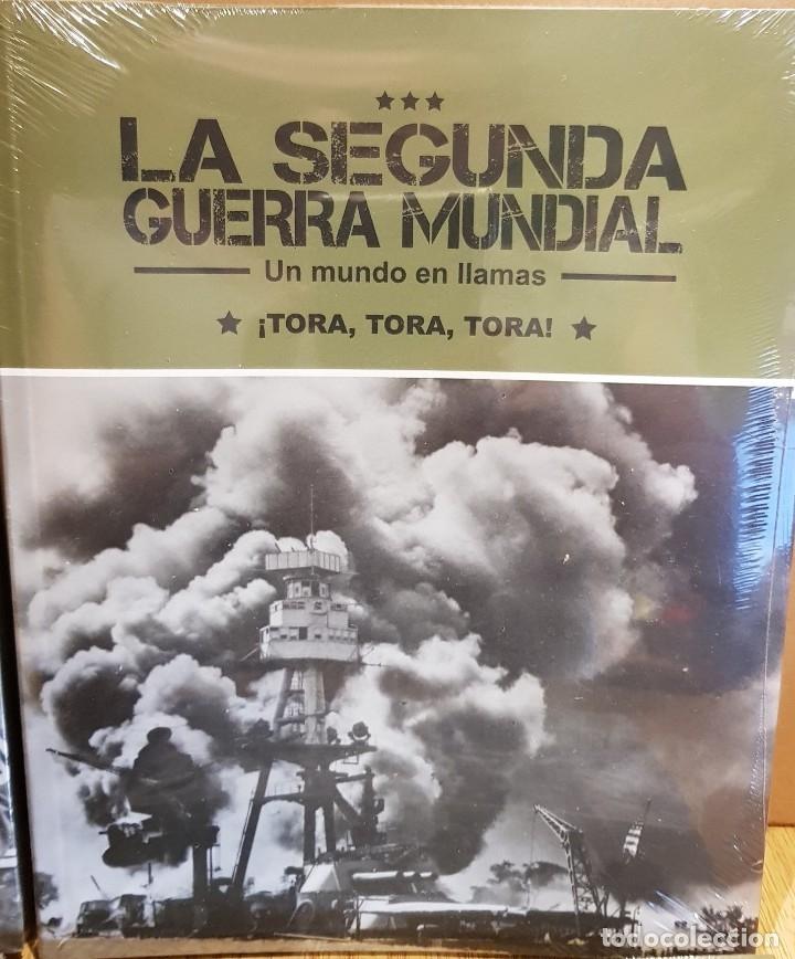 Libros: LA SEGUNDA GUERRA MUNDIAL / UN MUNDO EN LLAMAS / COMPLETA / 4 TOMOS PRECINTADOS - Foto 3 - 137333306