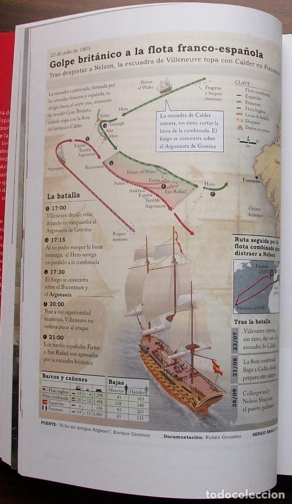 Libros: TRAFALGAR. LA CORTE DE CARLOS IV. BENITO PEREZ GALDOS. - Foto 4 - 138903810